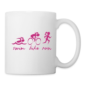 Swim Bike Run Tri Girl - Coffee/Tea Mug