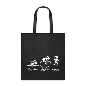 Swim Bike Run Tri Girl - Tote Bag