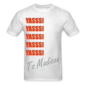 Yes Madison  - Men's T-Shirt