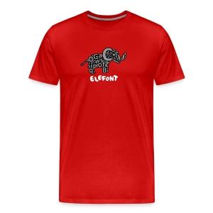 Elefont - Men's Premium T-Shirt