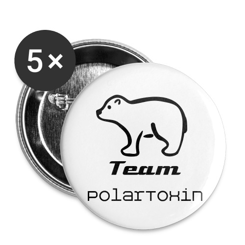 5 Pins - Buttons large 2.2'' (5-pack)
