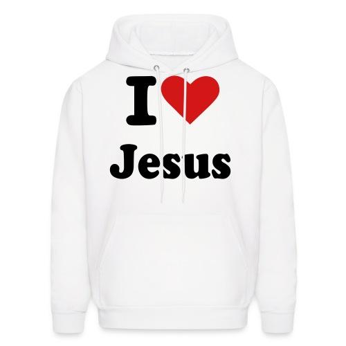 I Love Jesus. - Men's Hoodie