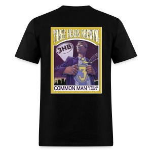 Common Man - White Logo - Men's T-Shirt