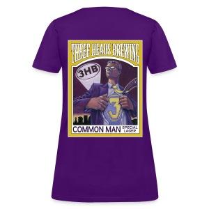 Common Man - White Logo - Women's T-Shirt