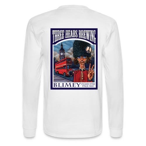 Blimey - Black Logo - Men's Long Sleeve T-Shirt