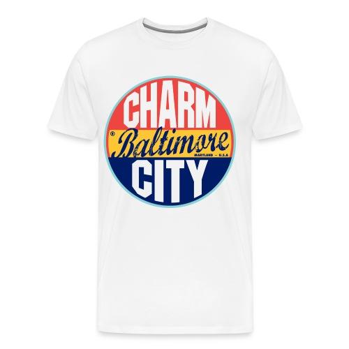 Charm City Baltimore. - Men's Premium T-Shirt