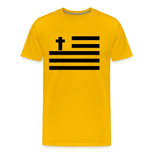 God Bless America. - Men's Premium T-Shirt