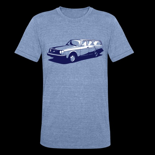 Volvo 245 Shirt - Unisex Tri-Blend T-Shirt
