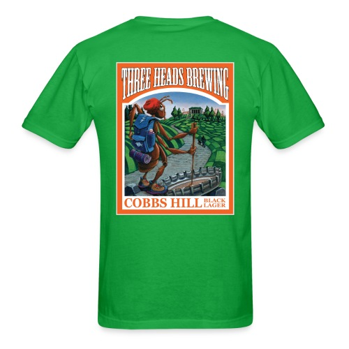 Cobbs Hill - White Logo - Men's T-Shirt