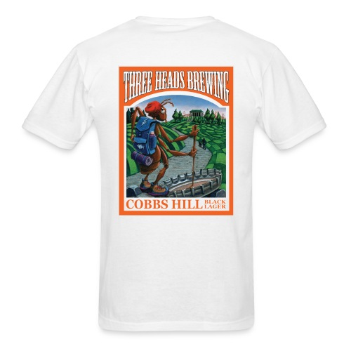 Cobbs Hill - Black Logo - Men's T-Shirt