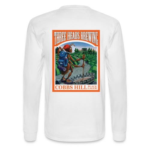 Cobbs Hill - Black Logo - Men's Long Sleeve T-Shirt