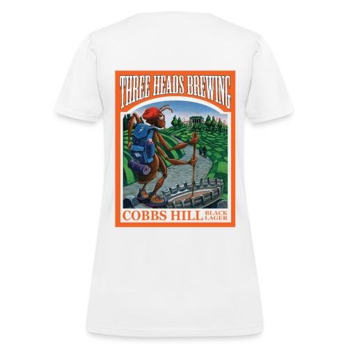 Cobbs Hill - Black Logo - Women's T-Shirt