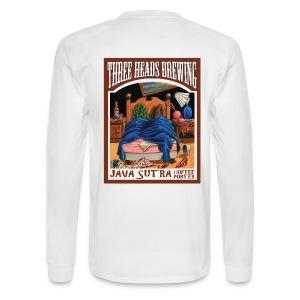 Java Sutra - Black Logo - Men's Long Sleeve T-Shirt