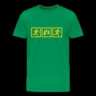 T-Shirts ~ Men's Premium T-Shirt ~ MENS RUNNING T SHIRT - RUN FOREST RUN