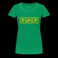 T-Shirts ~ Women's Premium T-Shirt ~ WOMENS RUNNING T SHIRT - RUN FOREST RUN
