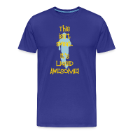 T-Shirts ~ Men's Premium T-Shirt ~ MENS RUNNING T SHIRT - LIQUID AWESOME