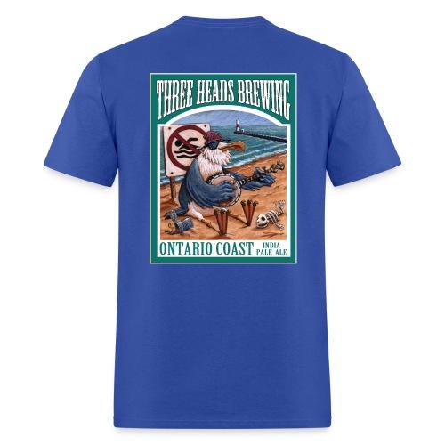 Ontario Coast - White Logo - Men's T-Shirt