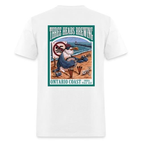 Ontario Coast - Black Logo - Men's T-Shirt
