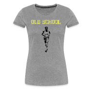 T-Shirts ~ Women's Premium T-Shirt ~ WOMENS RUNNING T SHIRT - OLD SCHOOL