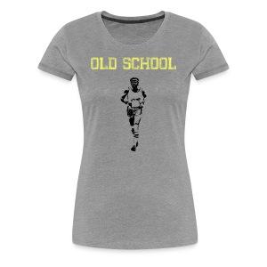 WOMENS RUNNING T SHIRT - OLD SCHOOL - Women's Premium T-Shirt