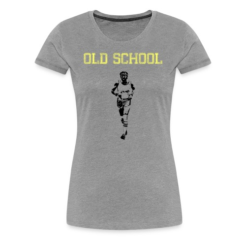 WOMENS RUNNING T SHIRT - OLD SCHOOL - Women's Premium T-Shirt