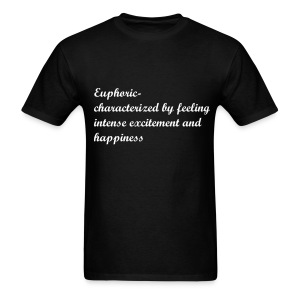 Men Define Euphoric Tshirt - Men's T-Shirt
