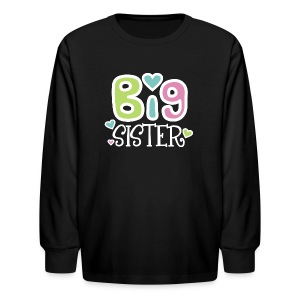 Big Sister 2 Long Sleeve T-Shirt - Kids' Long Sleeve T-Shirt