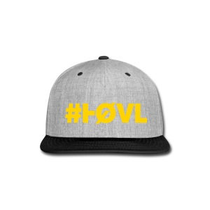 HØVL SNAP-BACK PURPLE-GOLD - Snap-back Baseball Cap