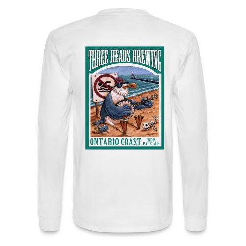 Ontario Coast - Black Logo - Men's Long Sleeve T-Shirt