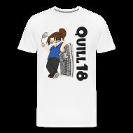 T-Shirts ~ Men's Premium T-Shirt ~ Old School Quill18 (Mens T)