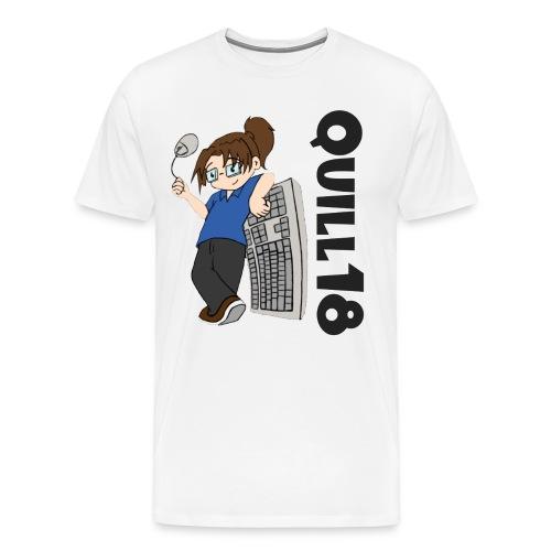 Old School Quill18 (Mens T) - Men's Premium T-Shirt