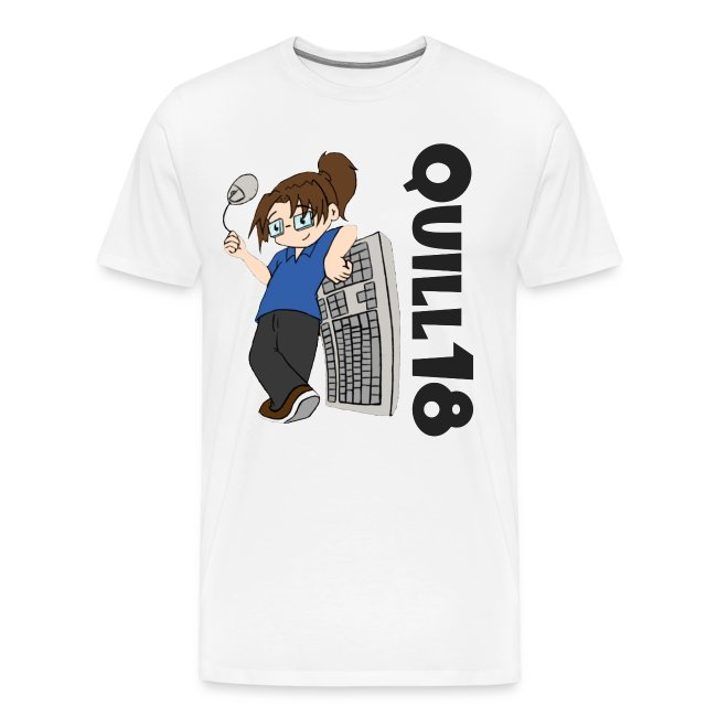 Old School Quill18 (Mens T)