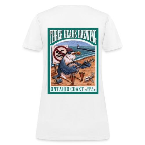 Ontario Coast - Black Logo - Women's T-Shirt