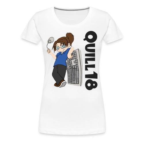 Old School Quill18 (Ladies T) - Women's Premium T-Shirt