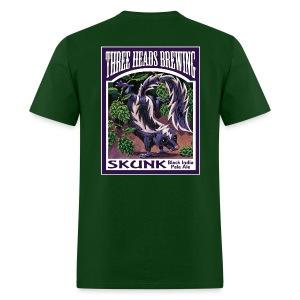 Skunk - White Logo - Men's T-Shirt