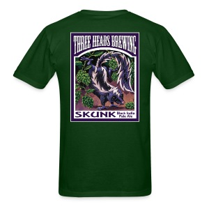 Skunk - White Logo - Men's T-Shirt