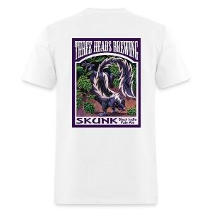 Skunk - Black Logo - Men's T-Shirt