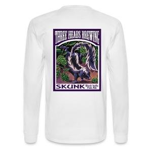 Skunk - Black Logo - Men's Long Sleeve T-Shirt