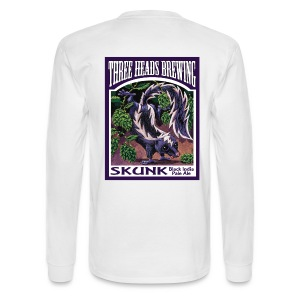 Skunk - Black Logo - Men's Long Sleeve T-Shirt