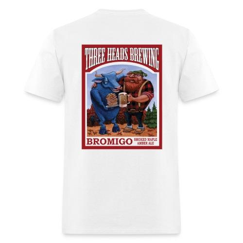 Bromigo - White Logo - Men's T-Shirt