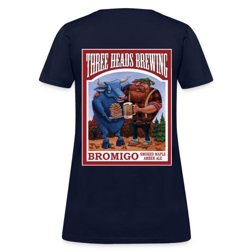 Bromigo - White Logo - Women's T-Shirt