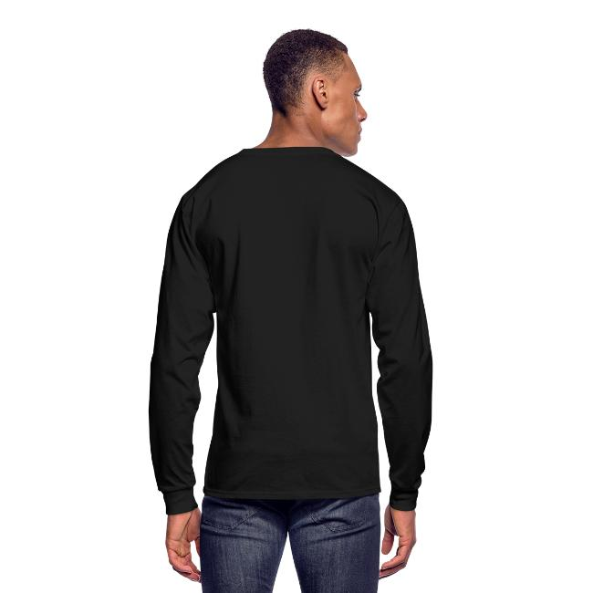 Disc Golf, It's Not Just for Hippies Long Sleeved Shirt - White Print