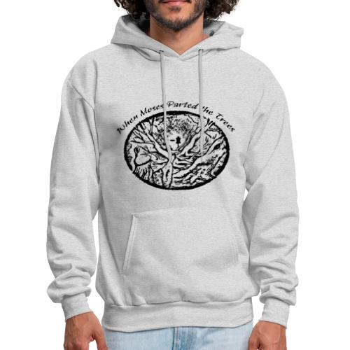 When Moses Parted the Trees Disc Golf Hoodie - Adult - Men's Hoodie
