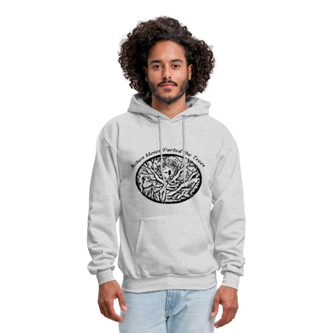 When Moses Parted the Trees Disc Golf Hoodie - Adult