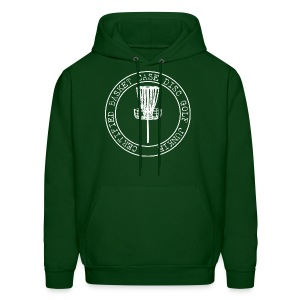 Certified Basket Case Disc Golf Junkie  - Adult Hoodie - Men's Hoodie