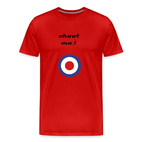 shoot me tshirt - Men's Premium T-Shirt