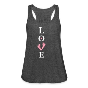 Baby Bump Love (non maternity) - Women's Flowy Tank Top by Bella