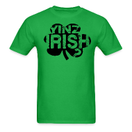 T-Shirts ~ Men's T-Shirt ~ Yinz Irish? Cutout - Men's T-shirt