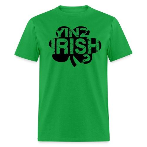 Yinz Irish? Cutout - Men's T-shirt - Men's T-Shirt