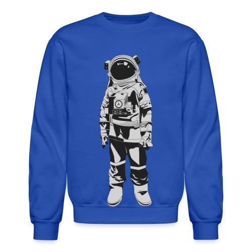Astronaut Men's Crewneck - Crewneck Sweatshirt